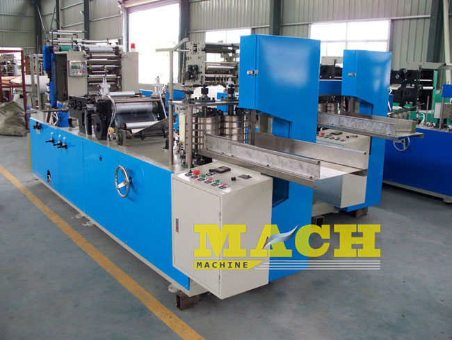 With Color Printer Automatic Serviette Tissue Paper Making Machine