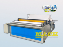 Semi-Automatic Toilet Tissue Paper Making Machine