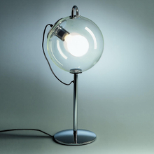 Artist glass ball table lamp simple style light