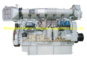 184HP-614HP Zichai medium speed marine diesel engine (Z6170)