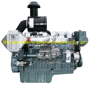 375HP 1500RPM Yuchai marine propulsion diesel boat main engine (YC6T375C)