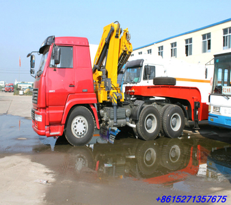 SINO STEYR  TRACTOR WITH CRAME   Customization