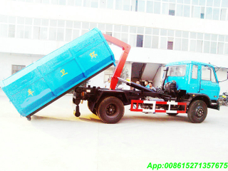 Hook lift truck with 8~10M3 Garbage Bin LHD /RHD
