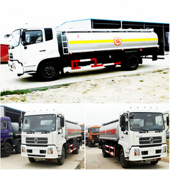Dongfeng 10000-15000 liters mobile refueling tanker truck(10-12T)
