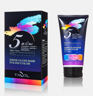 3D Briliant Hair Colorfull Hair Dye Free Ammonia 150ml Brown Color