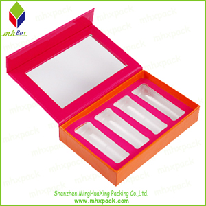 2016 Hot Slae Rigid Paper Cosmetic Storage Box