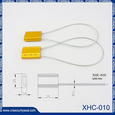Tamper evidence cable seals
