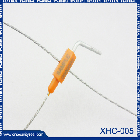 Truck plastic cable seals