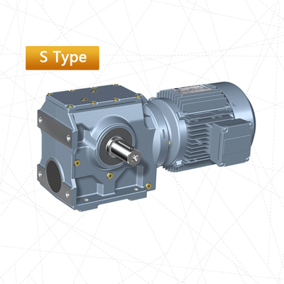S Helical-worm Gear Motor