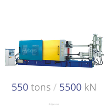 550tons/5500kN Cold Chamber Die Casting Machine