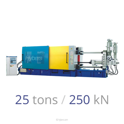 25tons/250kN Cold Chamber Die Casting Machine