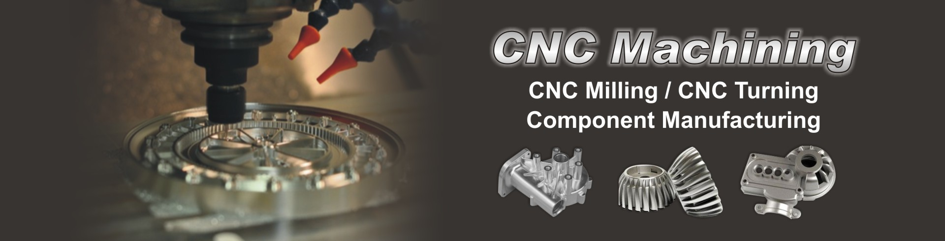 CNC machining - banner