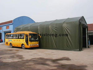 Shelter, Bus Carport, Bus Tent, Bus Shed, Bus Parking (TSU-1850)