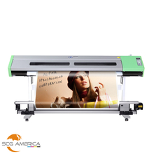 AJ-1600 64'' Eco Solvent Printer With Single DX5 Head