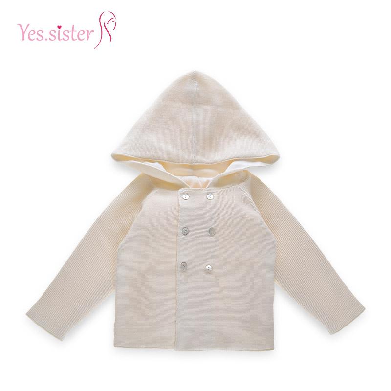 87e6aab80230 Off White Newborn Unisex Baby Clothes Hooded Cardigan - Buy unisex ...