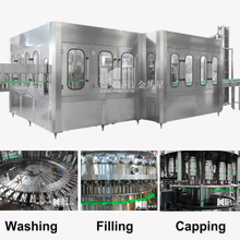 Carbonated Drink 3-in-1 Filling Machine DCGF 50-50-15