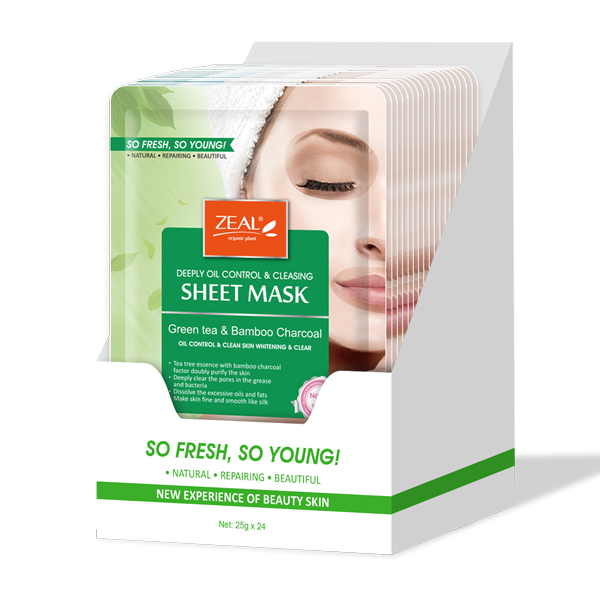 Zeal Deeply Oil Control & Cleasing Sheet Mask