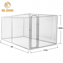 Outdoor Chain Link Mesh Metal Dog Kennel