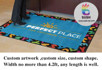 Custom full color Printed floor mat