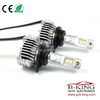 Smallest P12 45W 6500lm universal 9012 car led headlight with built-in fan( 100% suitable for all cars)