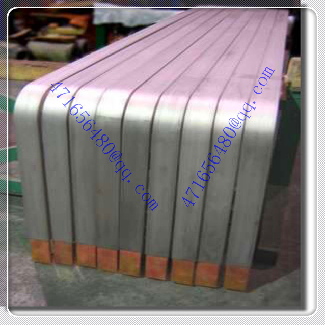 high precise Titanium clad copper finishing piece bar