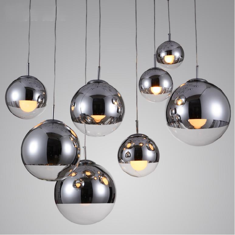 Tom Dixon Chrome Ball Pendant Lights Modern Interior lighting ?4027101? & Tom Dixon Chrome Ball Pendant Lights Modern Interior lighting ...