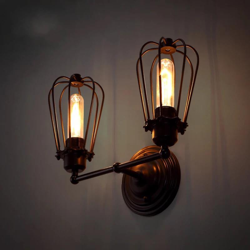 Design Unique Edison Bulb Rustic Wall Sconce Suppliers In China From China Manufacturer