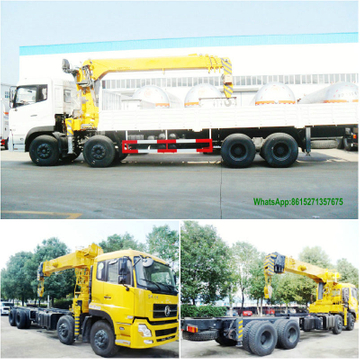 Dongfeng Kinland 16-20Thydraulic telescopic boom truck with crane