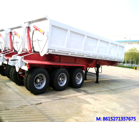 Side Tipper trailer 3 axles