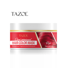 Tazol Semi-Permanant Hair Color Mask 200g with Red Color
