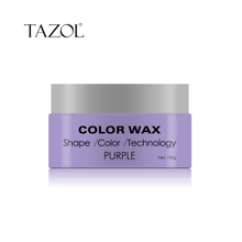 Tazol Temporary Hair Color Wax with Purple Color 100g