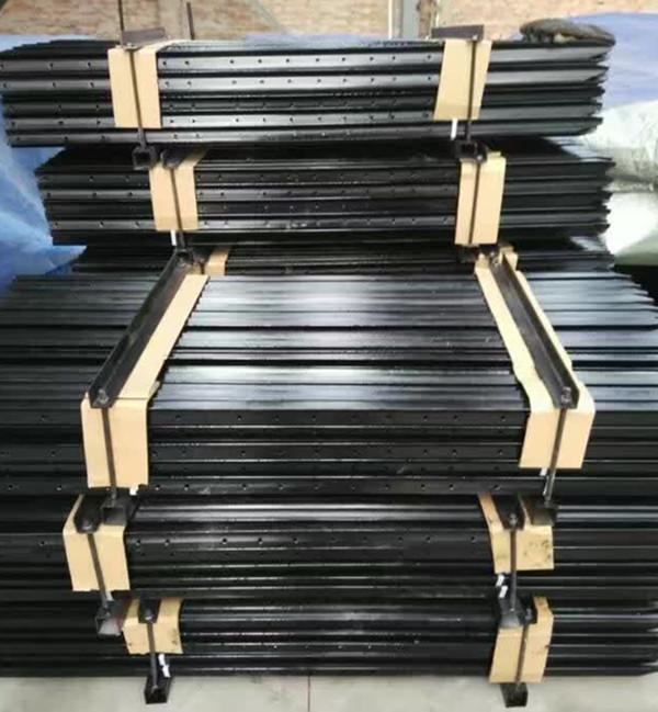 Australia new zealand field fence steel black bitumen star