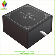 Black Paper Packing Jewelry Gift Drawer box