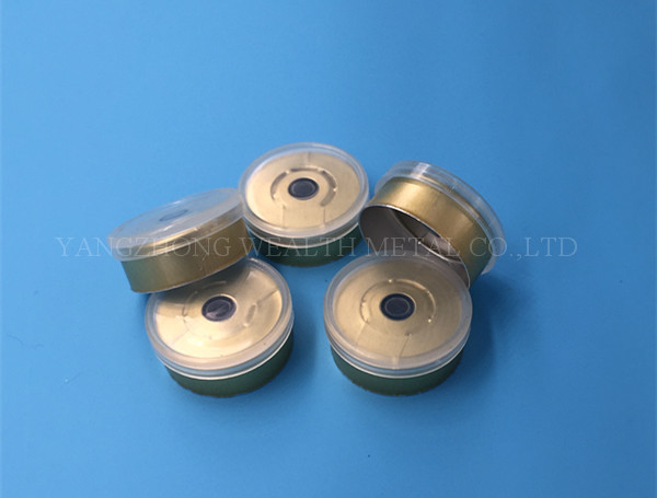 20mm Tear Off Cap(Golden color)