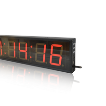 "4"" 4 digits clock  display . 3"