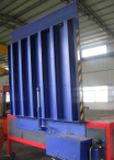 Vertical dock leveler