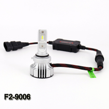 Bright 9-32V F2 9006 6000lm 6000K slim car led fog light