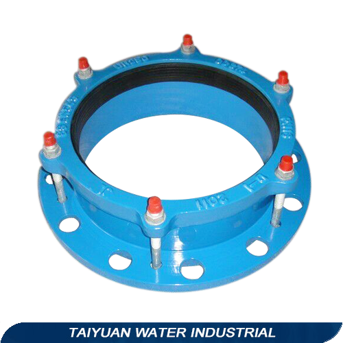 Standard Flange Adaptor for ductile iron di pipe plain end