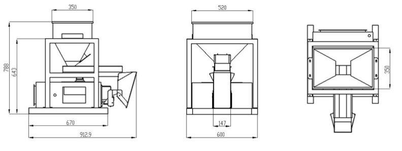 1 Head Bucket Weigher Rice Weigher Buck Scale-Drawing.jpg