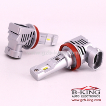 M3 haogen bulb size H8 H9 H11 6000lm car philips zes led headlight