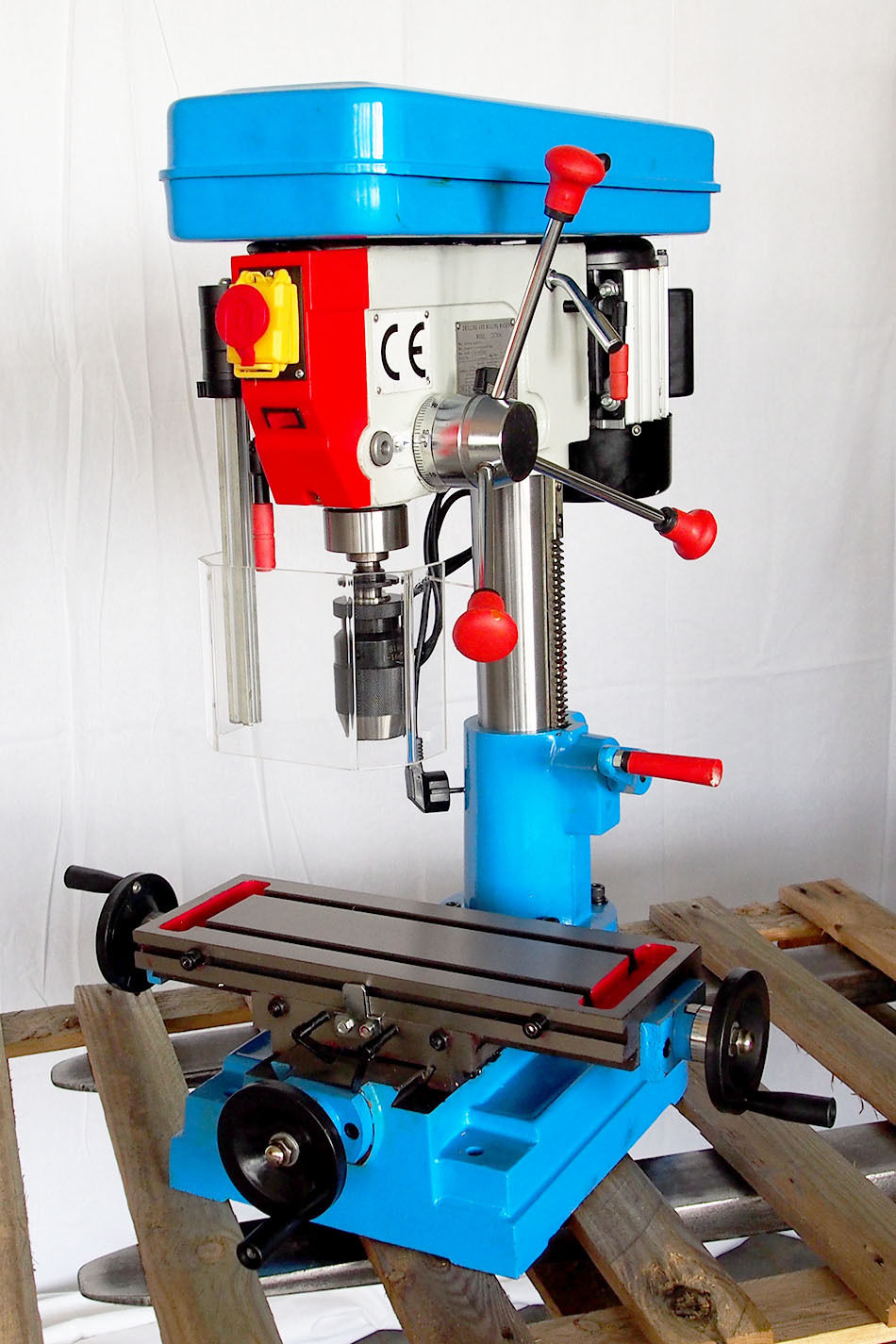 ECONOMICAL DRILLING AND MILLING MACHINE ZX7016