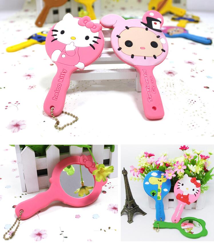 Cartoon Soft PVC Mirror for Girls
