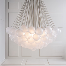 Stylish fashion dull polish glass bulb chandelier suspension lighting (50676)