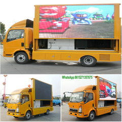 Howo 4*2 Mobile advertising LED truck