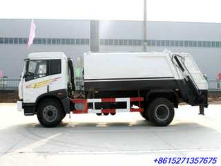 FAW 10~12M3 Trash Compactor Truck