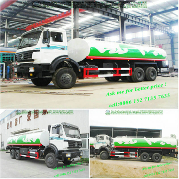 Beiben 6x6 chassis off road water tanker <Custom LHD RHD>