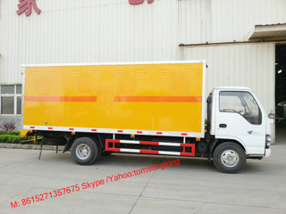 ISUZU 5~7T 4x2 Explosive Transportation truck Blasting Equipment Transporter