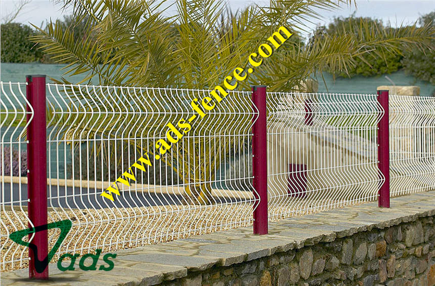 Curvy Welded Fence Buy Curvy Welded Fence Product On