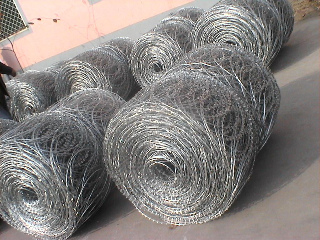 Flat Wrap Razor Wire Buy Flat Razor Wire Flat Wrap