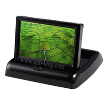 4.3 inch TFT LCD foldable LCD rear view monitor